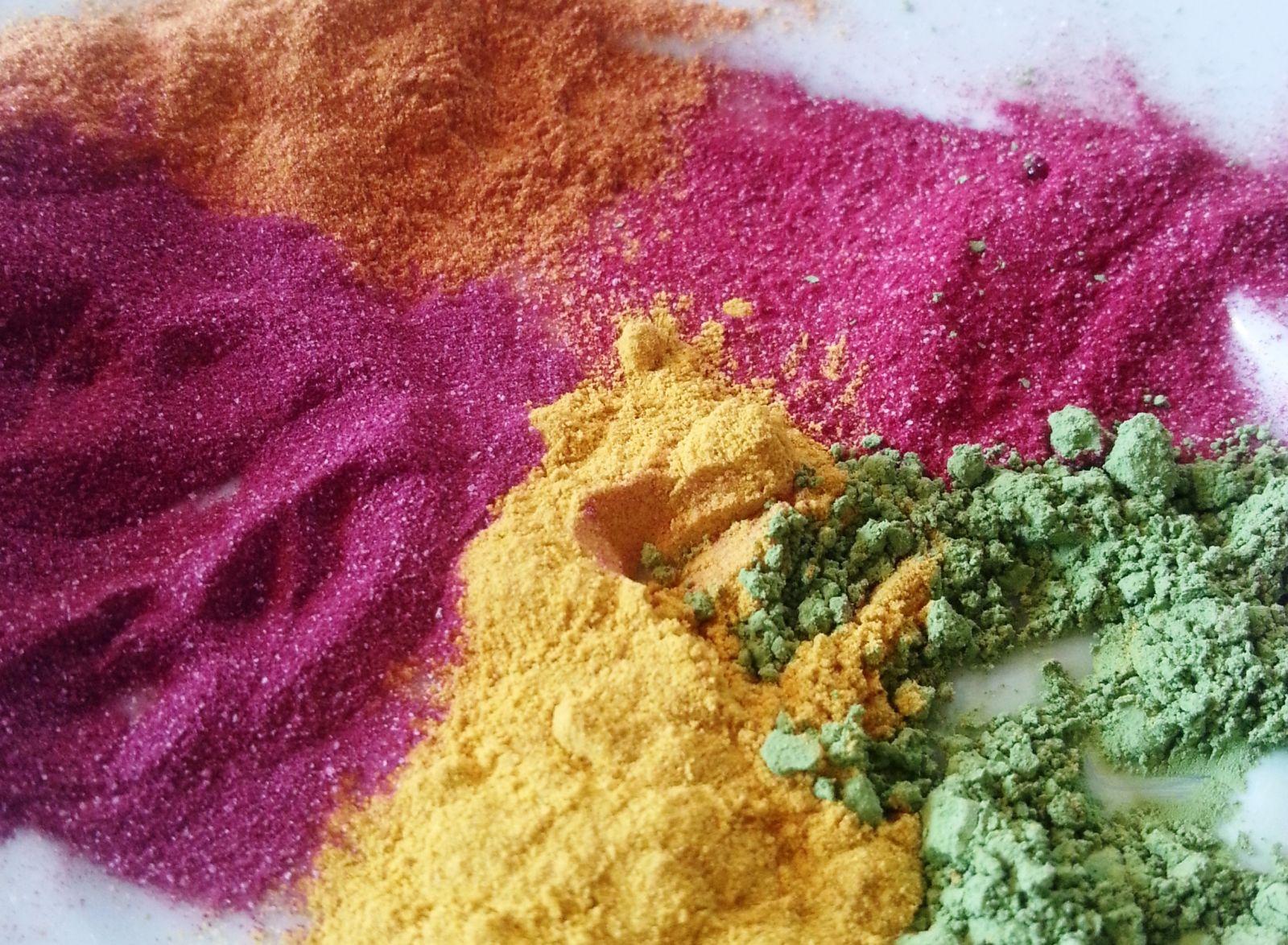 Lebensmittelfarbe BIO - Die Brise - Naturkosmetik selber machen
